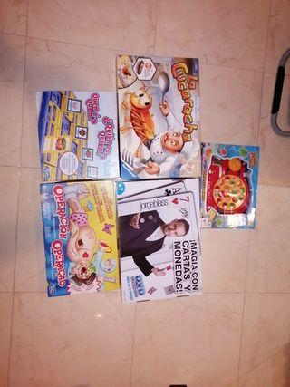 Pack juegos de mesa
