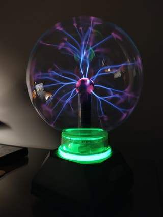Bola de rayos de plasma