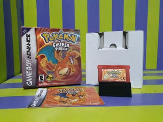 Pokemon Rojo Fuego Completo para game boy advance