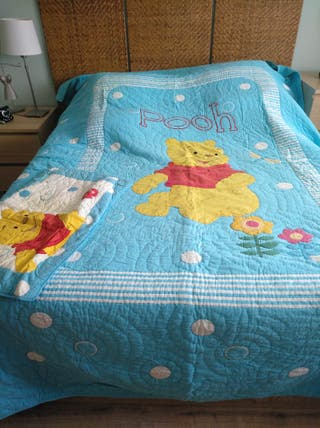 Colcha para cama de 90 cm
