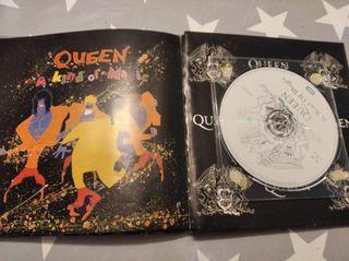 CD más libro explicativo queen