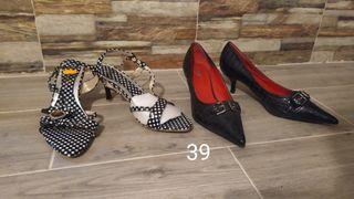 Zapatos y sandalias nuevas