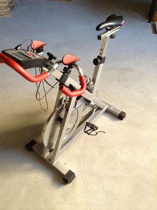 Bicicleta estática spinning kettler racing