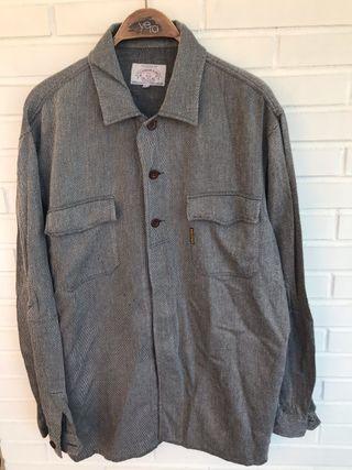 Camisa gris jaspeado ARMANI JEANS talla XXL