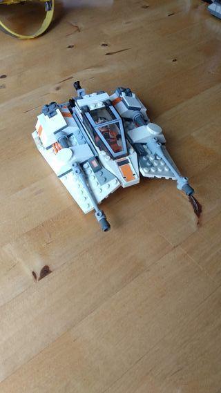 Luke snowspeeder de Lego Star Wars