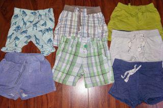 REGALO 4 pantalones cortos niño