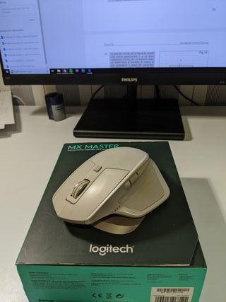 Logitech MX master gris claro