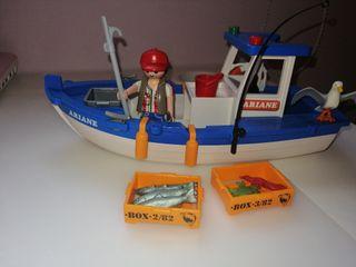 Barco Pesquero Ariane de Playmobil
