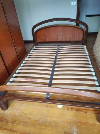 Estructura de cama+somier+colchon (Negociable)