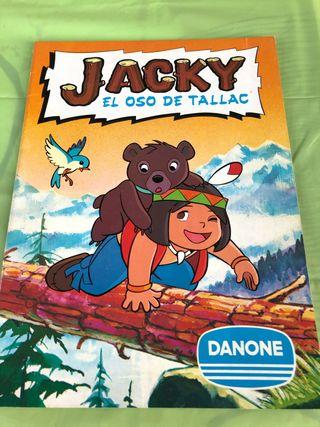 Álbum de cromos Jacky. El oso de Tallac