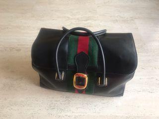 Bolso de viaje Gucci Vintage
