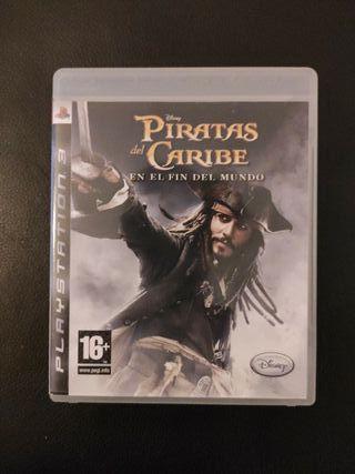 Piratas del caribe ps3
