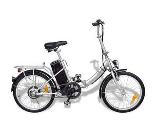 Bicicleta eléctrica plegable de aluminio