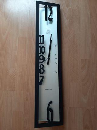 Reloj de pared hierro y cristal