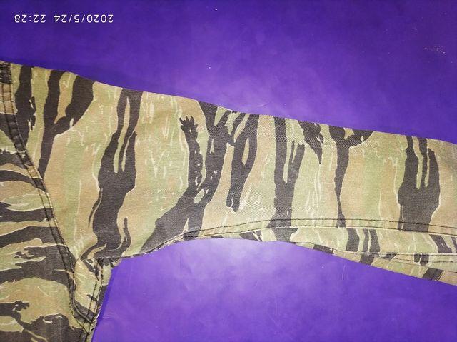 Camisa Tiger stripe camuflaje mimetizada