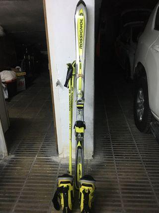 Esquís rossiñol de competición