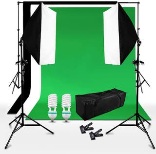 Kit iluminación estudio fotografía