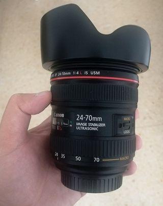 Objectivo Canon 24-70 mm f 4 (USM)