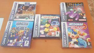Lote Juegos Gameboy Advance