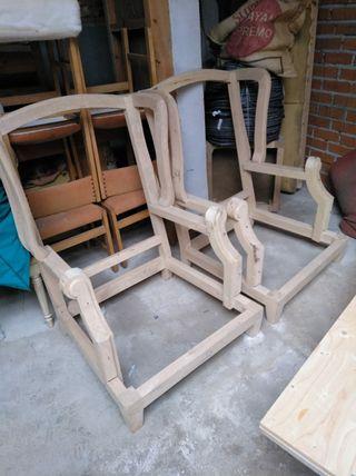 2 esqueletos sillón