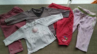Ropa bebé T:6-9 meses(5 prendas)