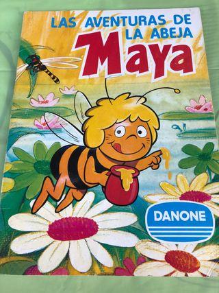 Álbum de cromos Las aventuras de la Abeja Maya