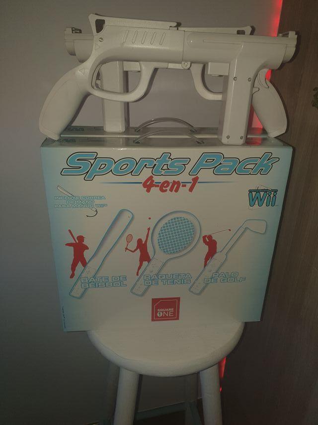 Accesorios Para Wii Sports y 2 Wii Zapper