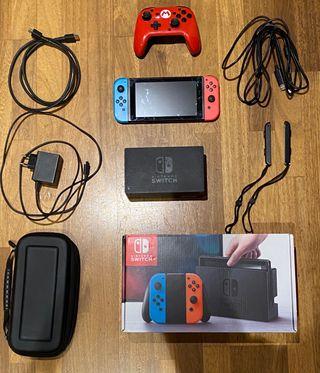 Nintendo switch+mando+minecraft+gear club+lego.