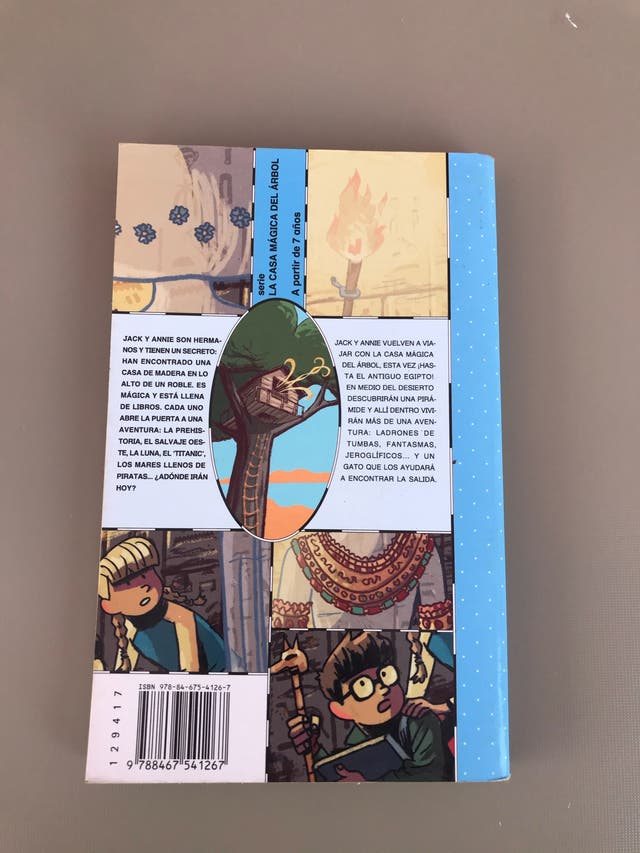 Libro: El secreto de la momia