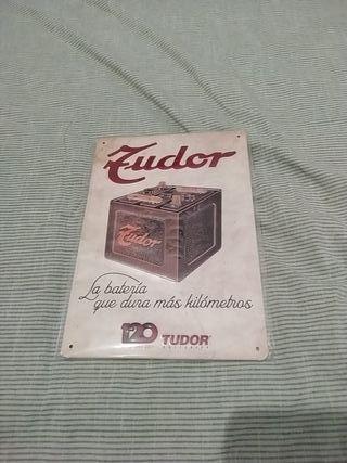 cuadro de chapa Tudor