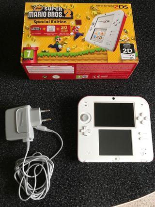 Nintendo 2DS + Super Mario Bros 2. (Pre-instalado)