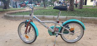 """bicicleta niña 16"""" 4-6 años"""