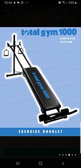 maquina total gym 1000