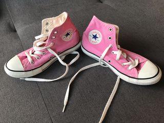 Zapatillas Rosas All Star talla 33,5