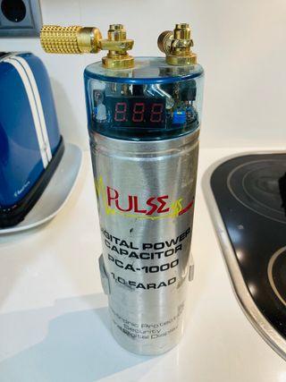 Condensador de audio 1 faradio 12 v
