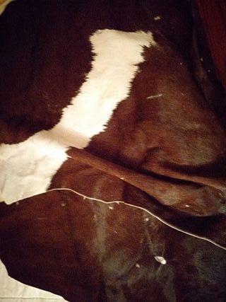 Retales grandes piel vaca
