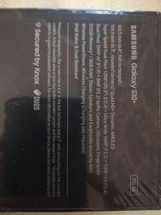 Galaxy S10 Plus 512GB sin estrenar