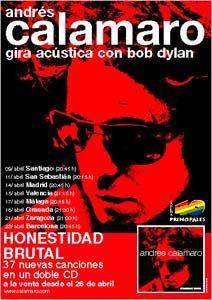 Poster / Cartel Andres Calamaro (Gigante)
