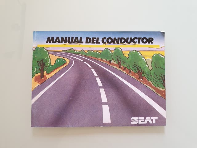 Manual del conductor Seat