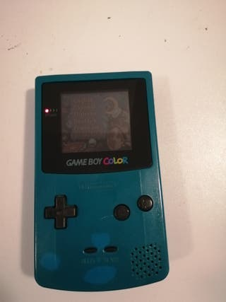 gameboy color +3juegos+funda+tapa extra