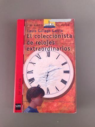 Libro: El coleccionista de relojes extraordinarios