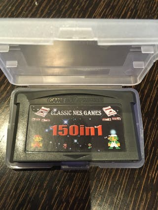 Gba game boy advance 150 en 1 nes Nintendo