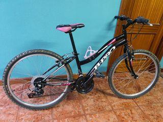 Mountain bike 24' niña
