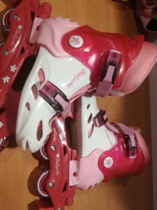 Patines baby chic + protectores