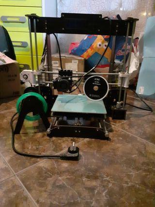 Impresora 3d con pequeño fallo