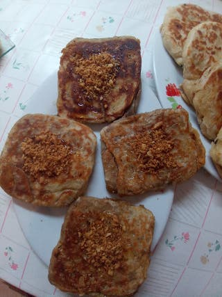 raif dulce de cacahuete con miel
