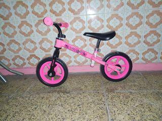 bici sin pedales niña