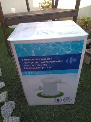 Depuradora para piscina