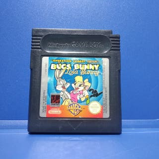 Juego Game Boy Color Bugs Bunny y Lola Bunny