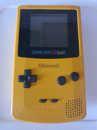 game boy color amarilla